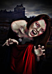 Red Headed Vampire - 2016 by shamanau