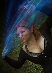 Witch In Woods Web by shamanau