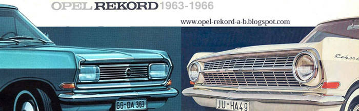 Opel Rekord by OUTRIDING