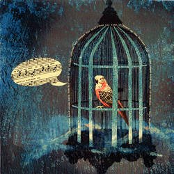 The Caged Bird Sings by jway