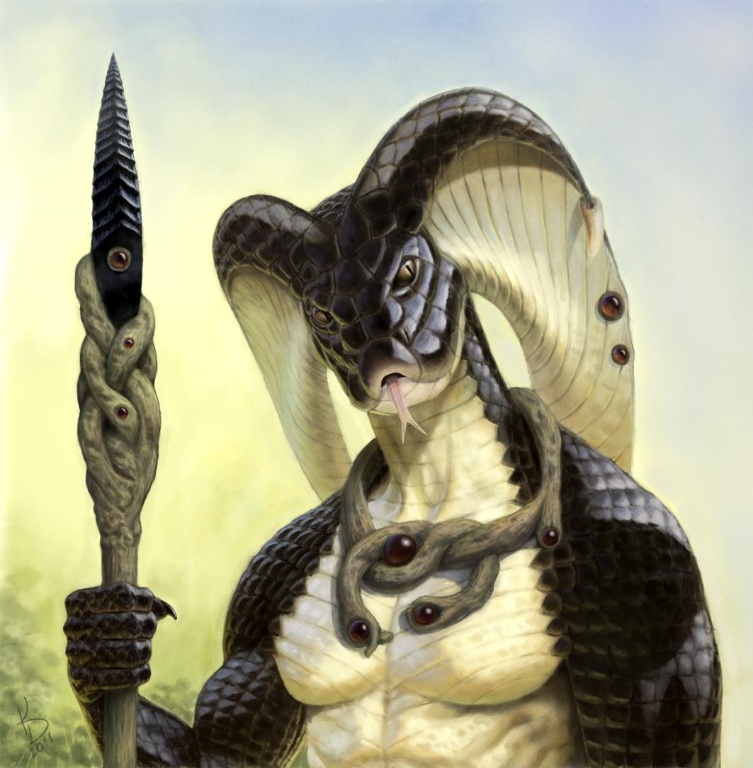Cobra Warrior by TestosteronMan