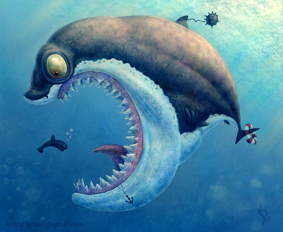 Sharky by TestosteronMan on deviantART