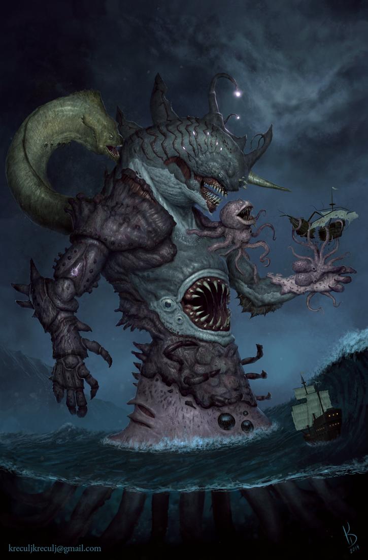 Kraken by TestosteronMan on DeviantArt