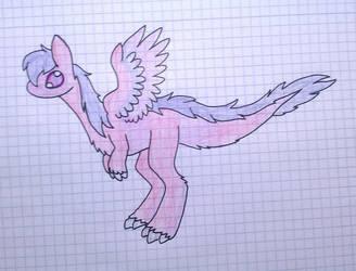 Female Fluffdragon [+Info in Desk.] by RainbowDragon14