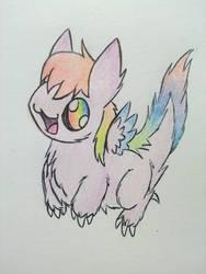 FluffBall DD by RainbowDragon14