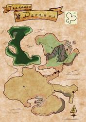 Ye Oldeish Map of Birthdays