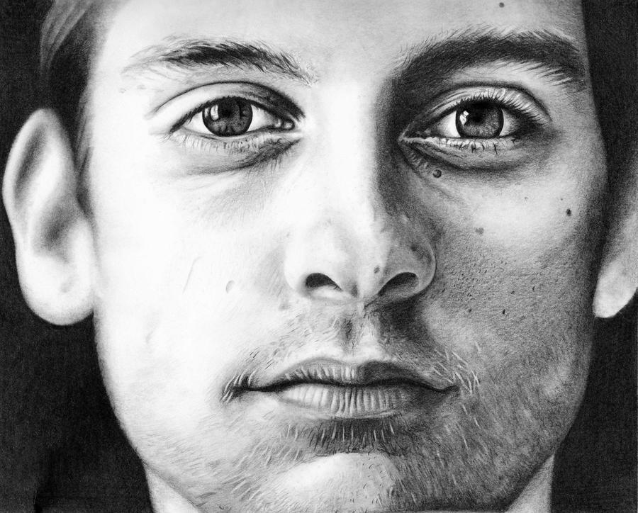 Tobey Maguire by shonechacko