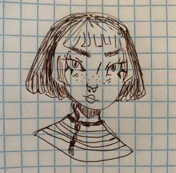 Quick Self-portrait Doodle