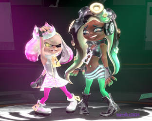 [SFM] Re-creating Off The hook official artwork