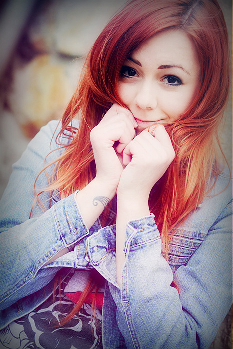 But Shy Redhead 22
