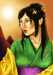 Kitsuki Yasuko by Faily-chan