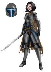 Raven in armor