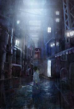 Who was born in the rain