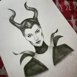 Maleficent by rocksstar10
