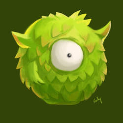 Fern - Rayman's Adventures Incrediball (Green)