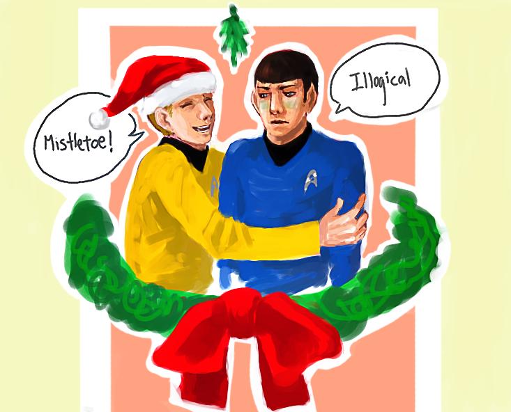 Star Trek- Christmas card w bg by Moonlight-Mage-Shiro on DeviantArt