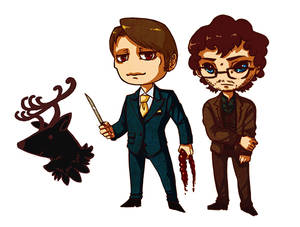 Hannibal Sticker set