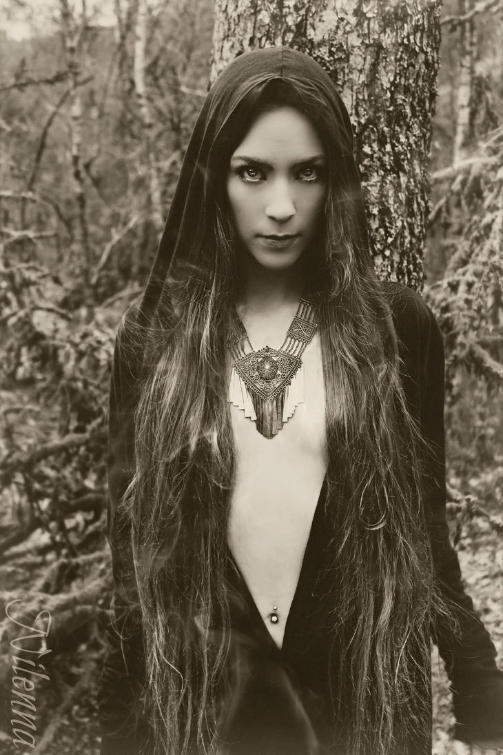 ~ Forest witch ~ by Nilenna