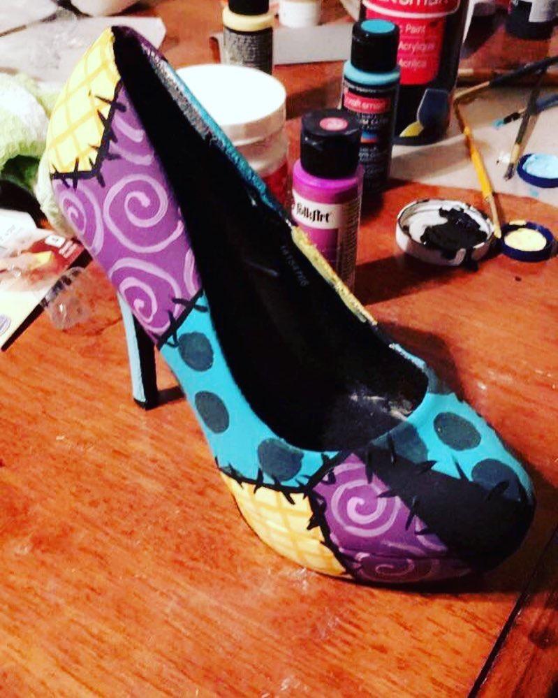 Sally shoes by LilithiaDark
