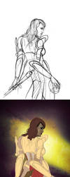 The Godeater_Process by gastonzubeldia