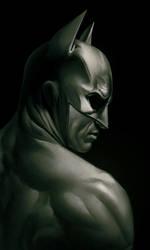 Batman Detail by gastonzubeldia