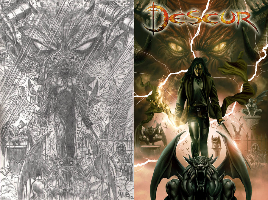 Descur Cover by gastonzubeldia