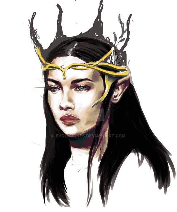 Concept Art character by evolajones