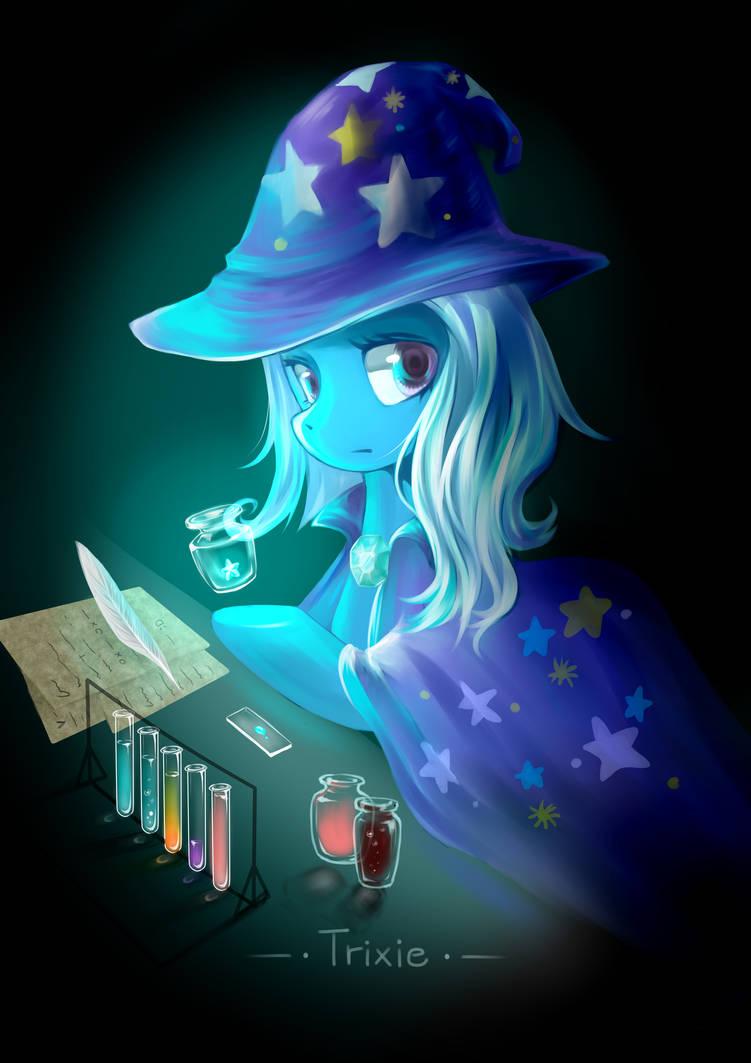 Trixie by ClaudiaQH