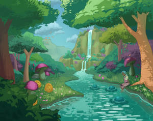 Slime forest
