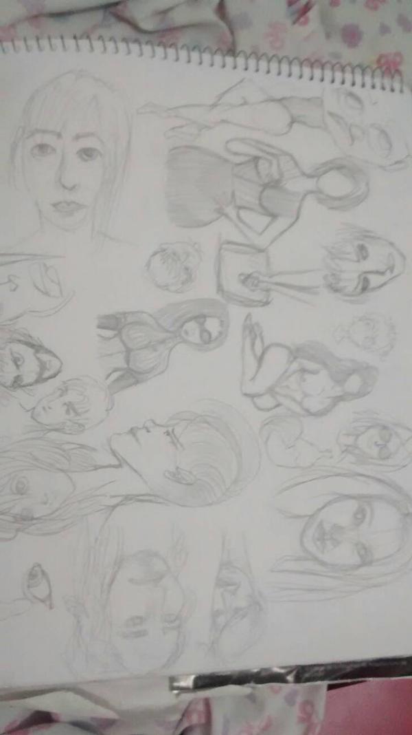 different days doodles by iLoveIslaDeLDrama