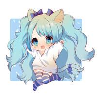Chibi Commission by Yuniiho