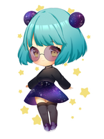 Galaxy Child by Yuniiho