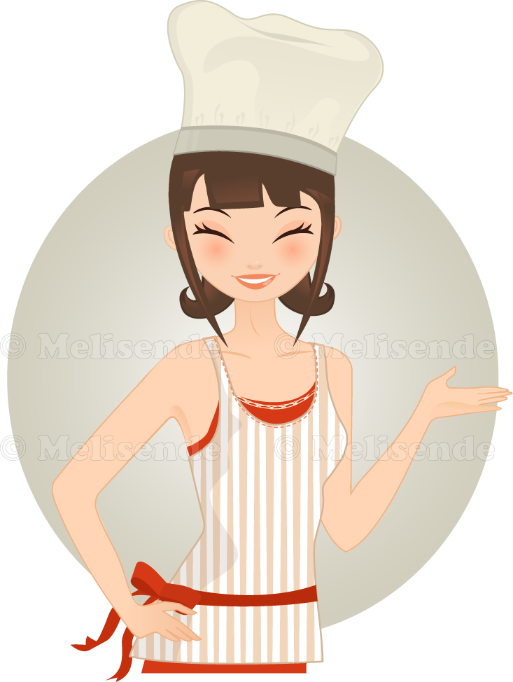 Happy Cook by Melisendevector