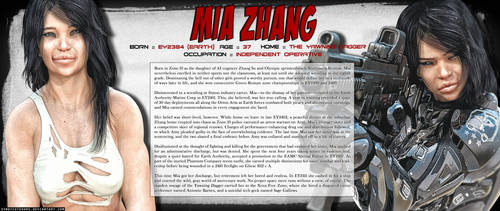 Mia Zhang by SyndicateWars