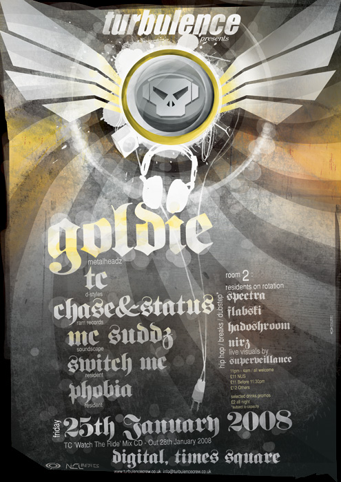 goldie poster by c0p