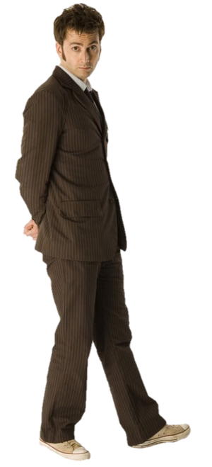 Doctor Who 10th Doctor PNG