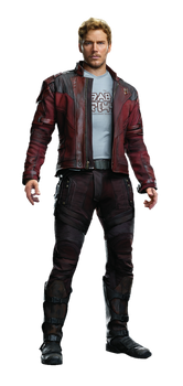 Guardians of the Galaxy Vol 2 Star lord PNG