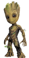 Guardians of the Galaxy Vol 2 Baby Groot PNG