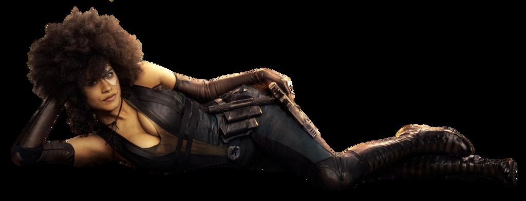 Deadpool 2 Domino PNG by Metropolis-Hero1125