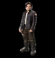 Star wars the last jedi Poe Dameron PNG by Metropolis-Hero1125