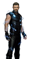 Avengers Infinity War Thor PNG