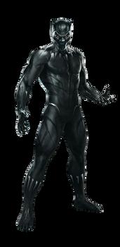 Avengers Infinity War Black Panther PNG by Metropolis-Hero1125