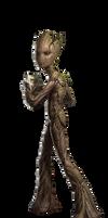 Avengers Infinity War Adolescent Groot PNG by Metropolis-Hero1125