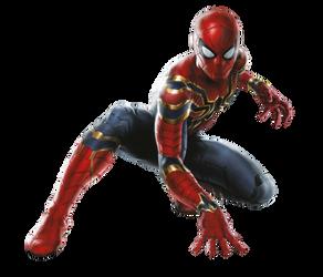 Avengers Infinity War Iron Spider PNG by Metropolis-Hero1125