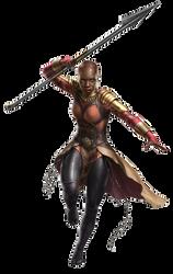 Black Panther Okoye PNG by Metropolis-Hero1125
