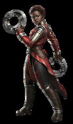 Black Panther Nakia PNG by Metropolis-Hero1125