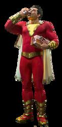 Shazam! Captain Marvel PNG by Metropolis-Hero1125
