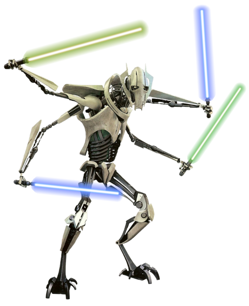 General Grevious Revenge Of The Sith Png By Metropolis Hero1125 On Deviantart