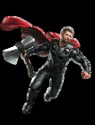 Avengers Endgame Thor PNG by Metropolis-Hero1125