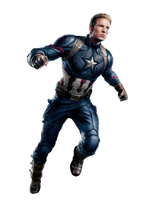 Avengers Endgame Captain America PNG by Metropolis-Hero1125